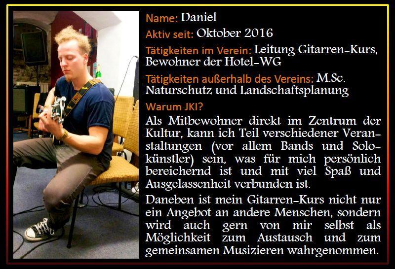 Steckbrief Daniel