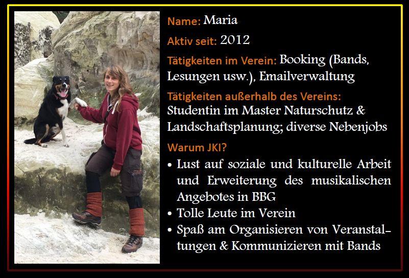 Steckbrief Maria Z