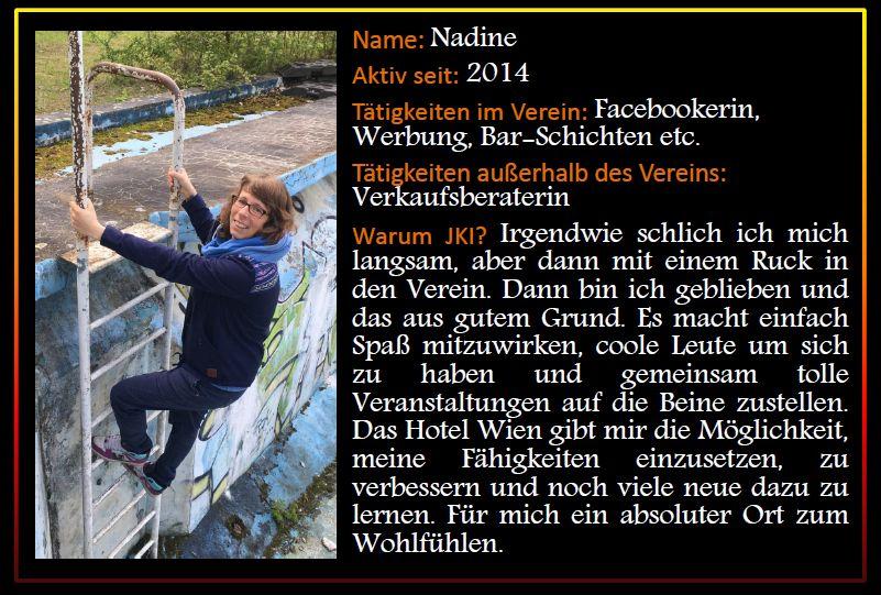 Steckbrief Nadine